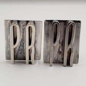 Other - Vintage Sterling Silver 925 PR Cuff Links
